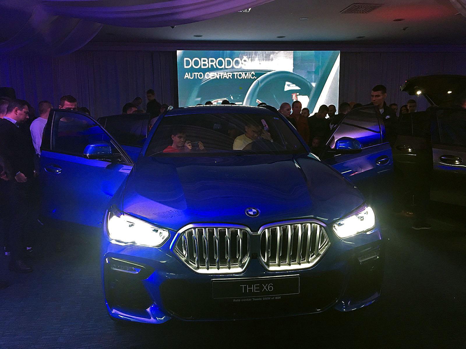 Predstavljen BMW X6 u Sarajevu