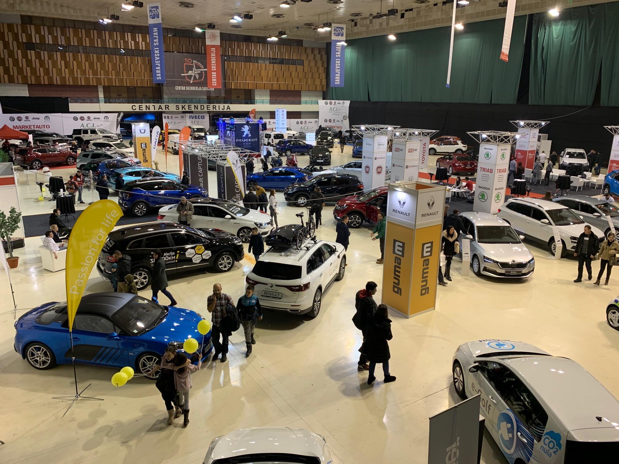 Otvorena Sarajevska izložba automobila