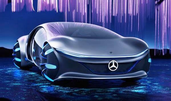 Mercedes na CES-u prikazao futuristički Vision AVTR concept