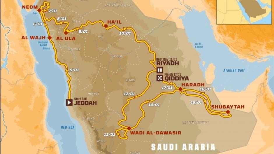 Počeo Dakar Rally: 342 vozila na startu, zastupljeno 68 nacija