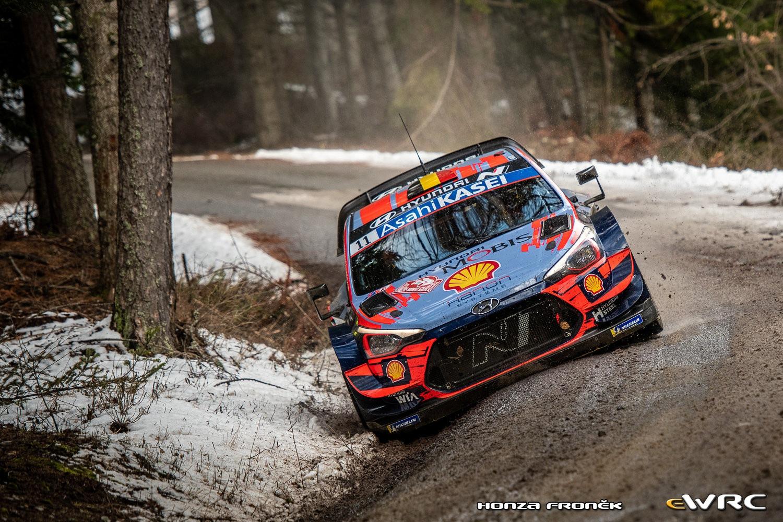 """Thierry Neuvile pobjednik """"88. Rally Monte-Carlo"""""""