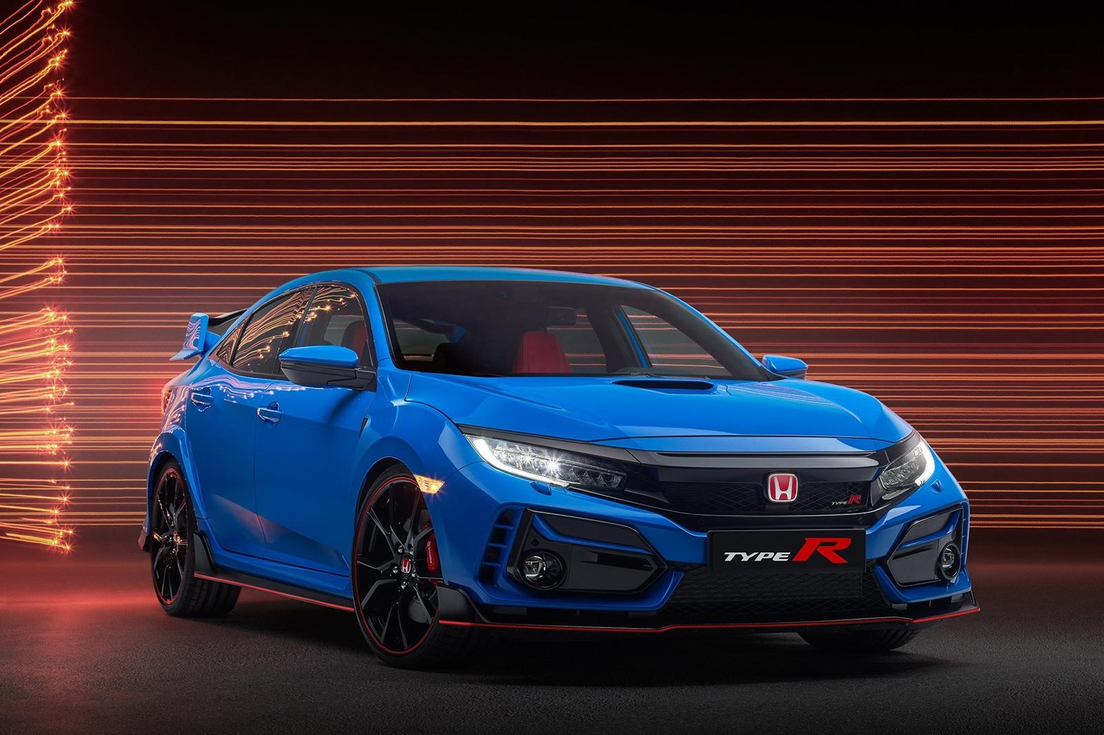 Unaprijeđena Honda Civic Type R.