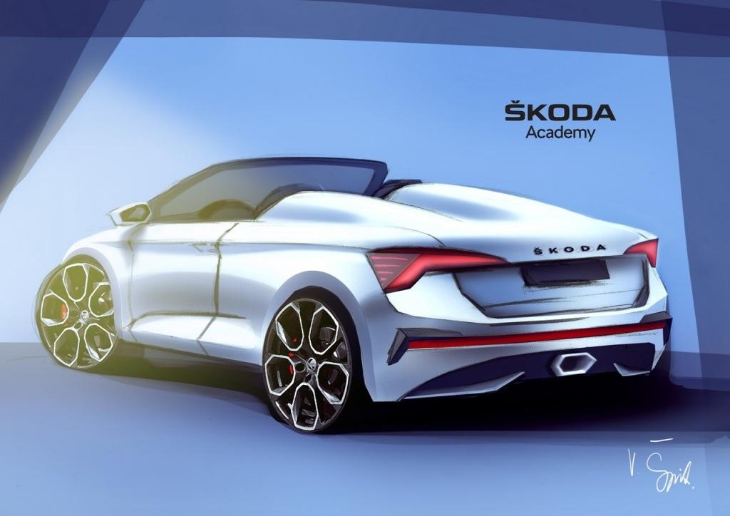 Ovo je nova Škoda Spyder bazinana na modelu Scala