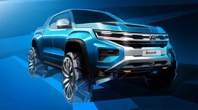 Kako će izgledati novi VW Amarok