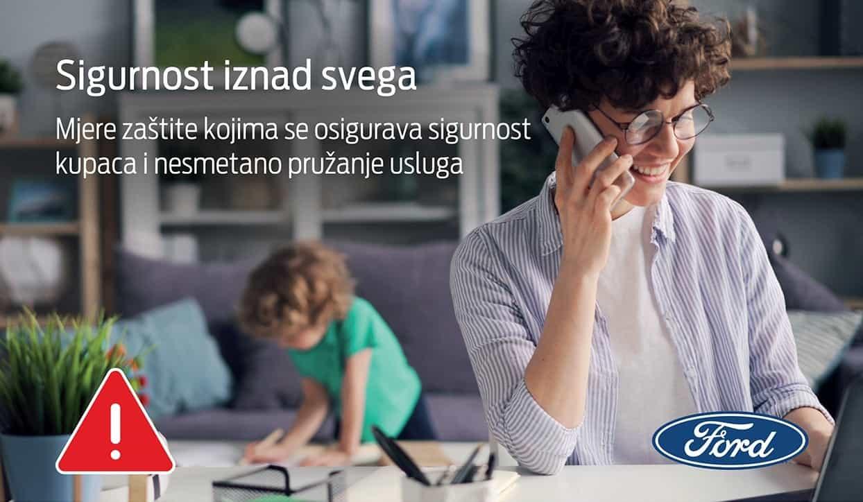 Fordovi servisi u BiH besplatno preuzimaju i vraćaju vozila sa servisiranja na željenu adresu
