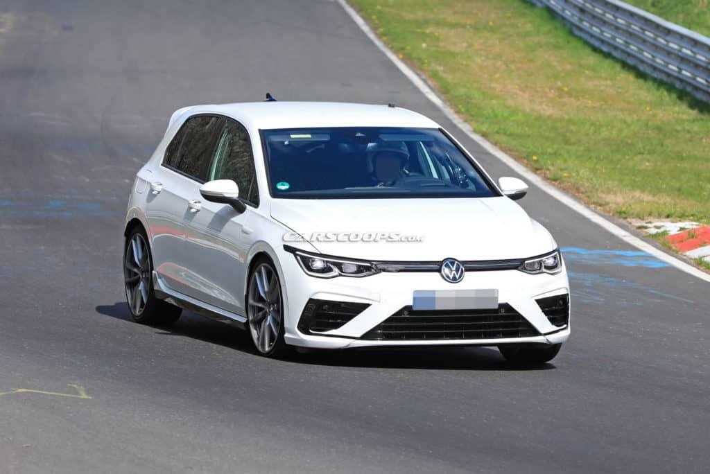 Na Nürburgringu uhvaćen novi Golf R za 2021. godinu