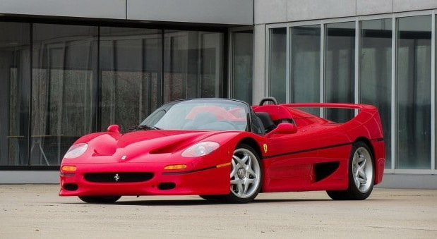 Na prodaju jedan od 349 Ferrarija F50