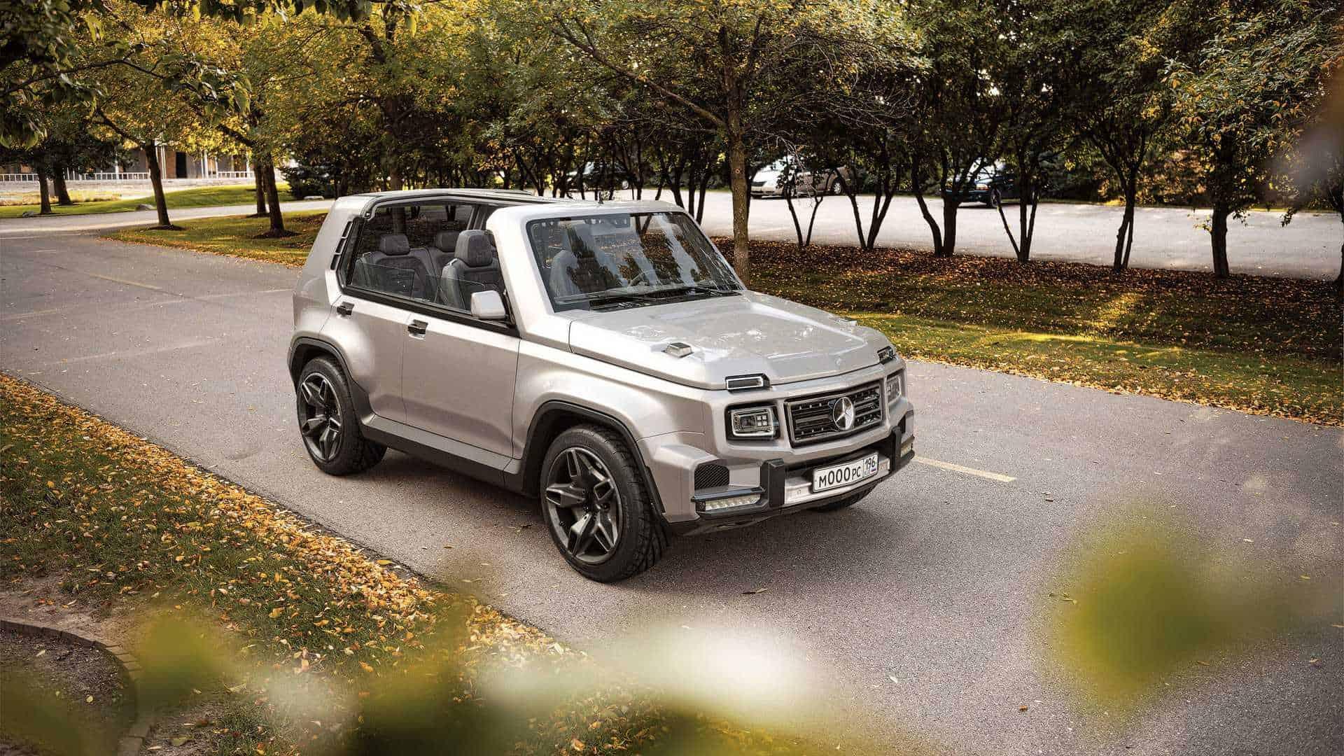 """Šta bude kada se """"zavole"""" ruska Lada Niva i njemački Mercedes-Benz G Klase?"""