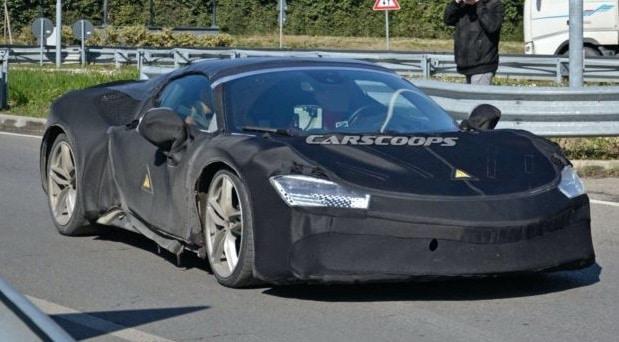 Misteriozni Ferrari prototip