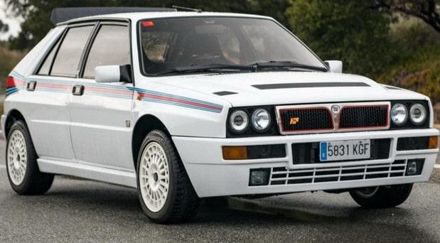 Na prodaju Lancia Delta HF Integrale u Martini bojama