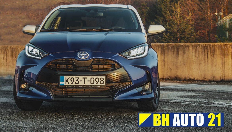 Toyota Yaris automobil godine u Bosni i Hercegovini