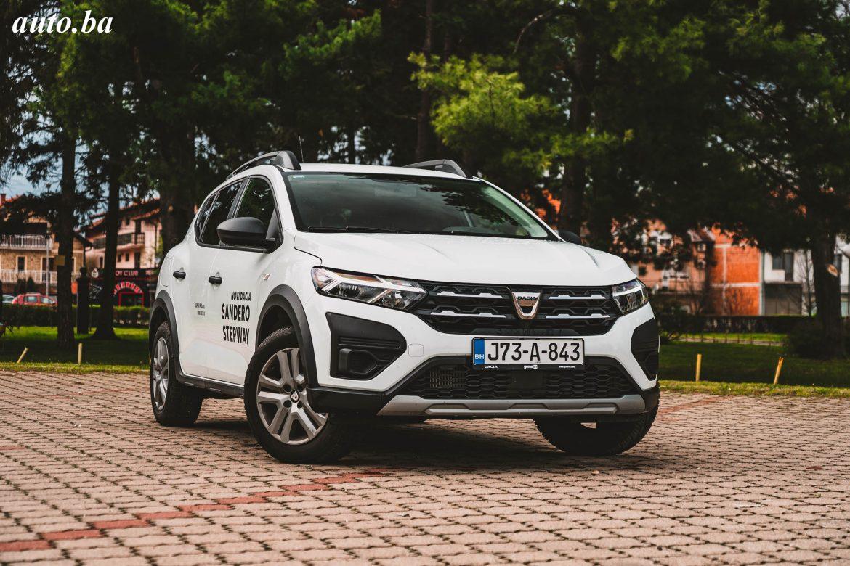 Dacia Sandero Stepway 1.0 Eco-G 100 – Jeftinije a bolje NEMA!