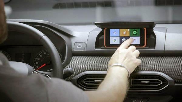 Dacia Sandero koristi pametni telefon kao multimedijski zaslon
