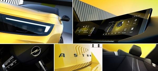 Opel objavio prve slike nove Astre