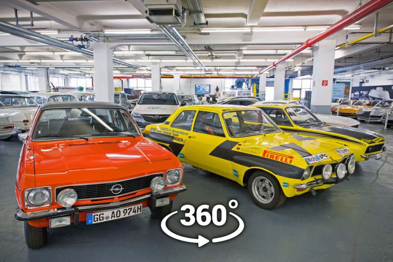 Virtualni obilasci zbirke Opel Classic
