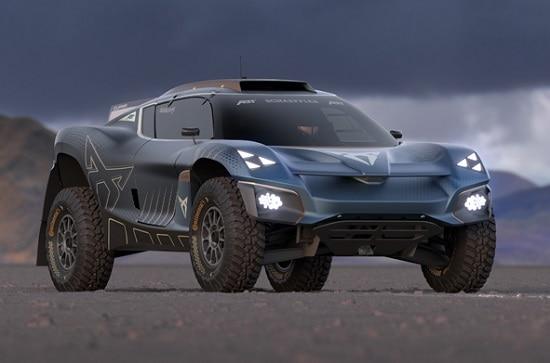 Cupra predstavila Tavascan Extreme E Concept