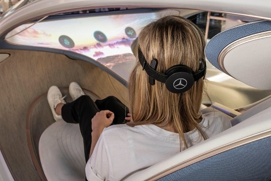 Mercedes-Benz Vision AVTR: Korisničkim sučeljem upravlja se snagom misli